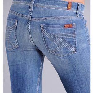 7 For All Mankind Flynt Flare Jeans Size 27